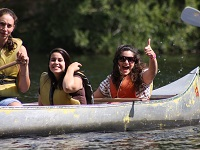 Youth-Group-Canoe-Lake-Activity-Retreat-Alpine-Meadows-Photo