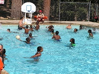 Pool-Activity-Youth-Fun-Retreat-Alpine-Meadows-Photo
