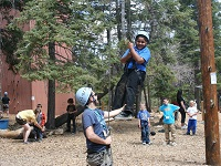 Ropes-Course-Youth-Activity-Outdoor-Alpine-Meadows-Photo